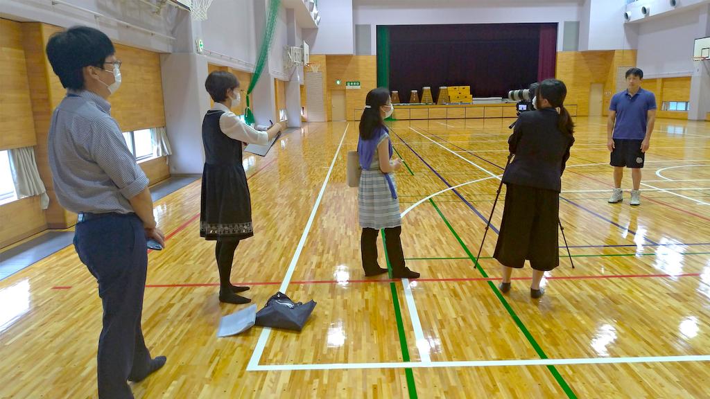 営業コラム:受験生向け、PR動画撮影